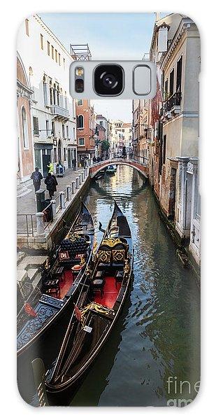 Morning In Venice In Winter Galaxy Case