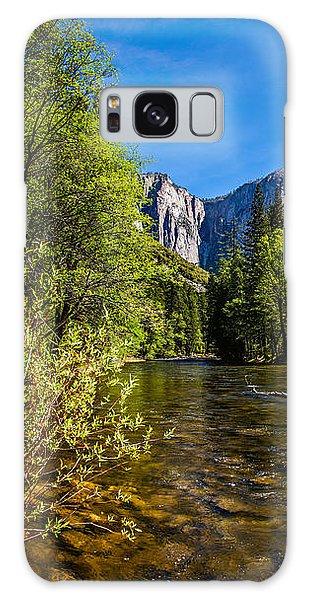 Yosemite National Park Galaxy S8 Case - Morning Inspirations 1 Of 3 by Az Jackson