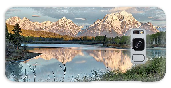Morning Light At Oxbow Bend Galaxy Case