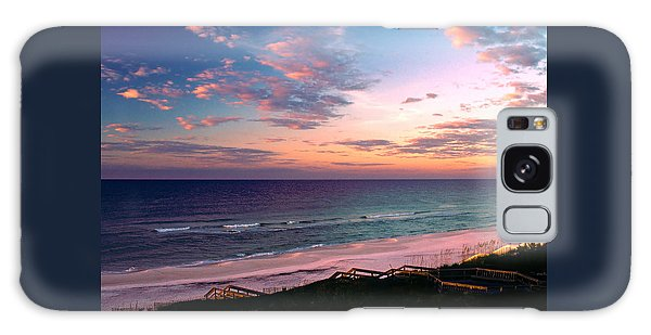 Morning Light On Rosemary Beach Galaxy Case by Marie Hicks