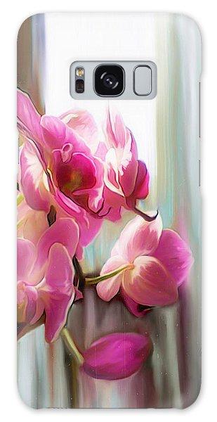 Morning Light Orchids Galaxy Case