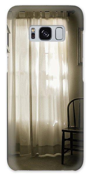 Morning Light Through The Window Galaxy Case