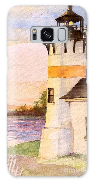 Morning, Lighthouse Galaxy Case