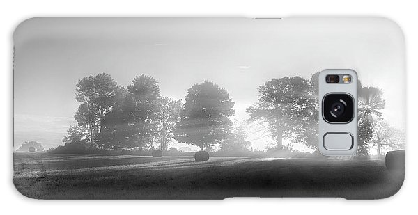 Galaxy Case featuring the photograph Morning Lights Bw by Bill Wakeley