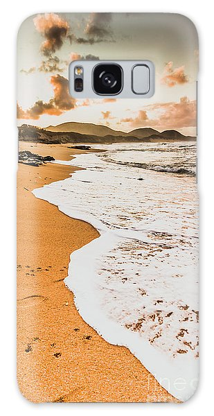 West Bay Galaxy Case - Morning Marine Wash by Jorgo Photography - Wall Art Gallery