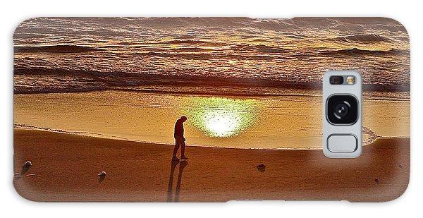 Morning Meditation Galaxy Case