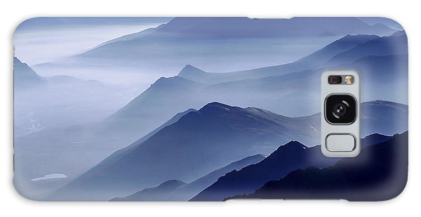 Mountain Galaxy Case - Morning Mist by Chad Dutson