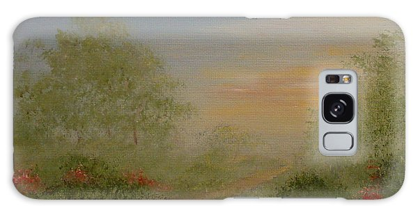 Morning Mist Galaxy Case by Leea Baltes