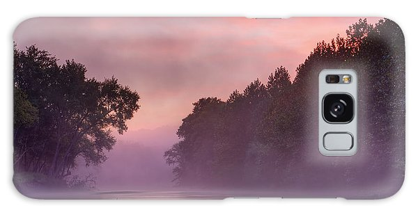 Morning Mist Galaxy Case by Robert Charity