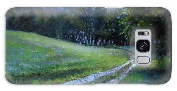 Morning On Blue Mountain Road Galaxy Case
