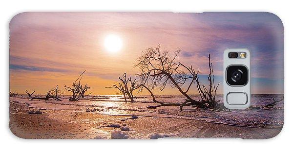 Morning On Boneyard Beach Galaxy Case by Steven Ainsworth