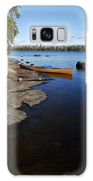 Morning On Hope Lake Galaxy Case by Larry Ricker