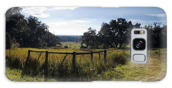 Morning On The Farm Galaxy Case