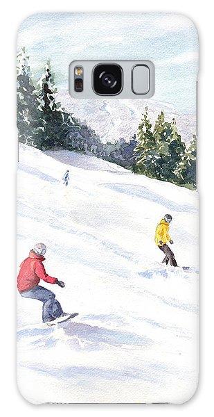Morning On The Mountain Galaxy Case by Vikki Bouffard