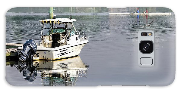 Galaxy Case featuring the photograph Morning On The Navesink River 2 by Gary Slawsky