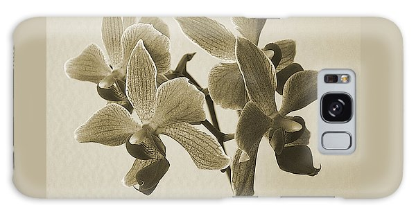 Morning Orchid Galaxy Case