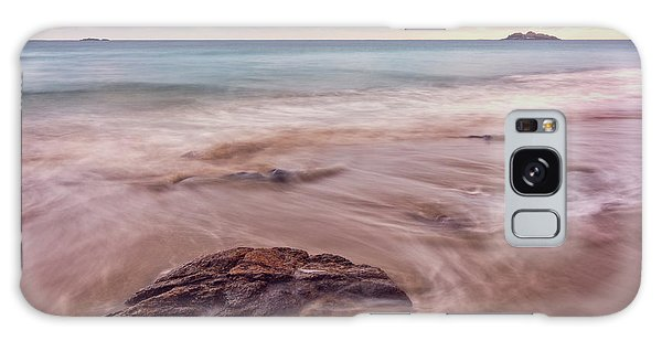 Galaxy Case featuring the photograph Morning Pastels Singing Beach Ma by Michael Hubley