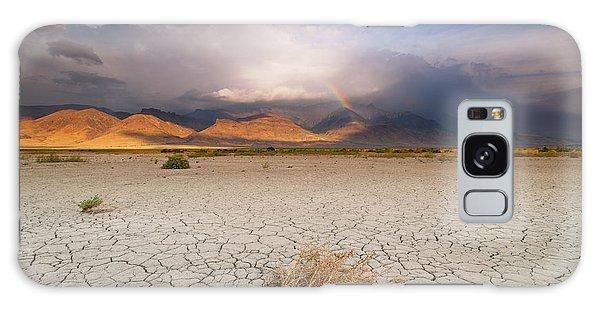 Morning Rainbow Galaxy Case