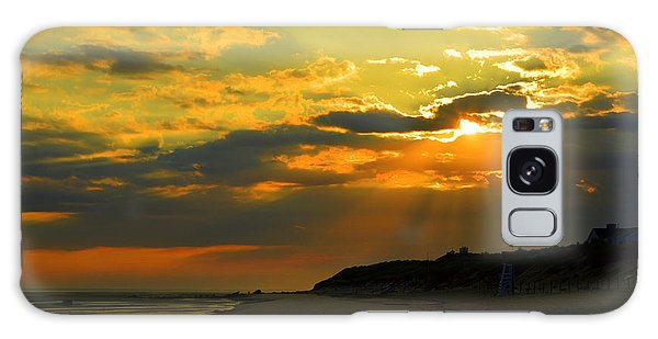Morning Rays Over Cape Cod Galaxy Case