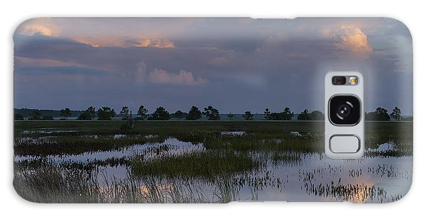 Morning Reflections Over The Wetlands Galaxy Case