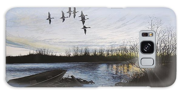 Morning Retreat - Pintails Galaxy Case