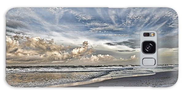 Morning Sky At The Beach Galaxy Case by HH Photography of Florida