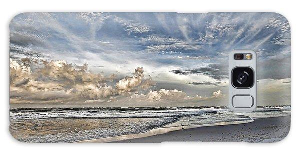 Morning Sky At The Beach Galaxy Case