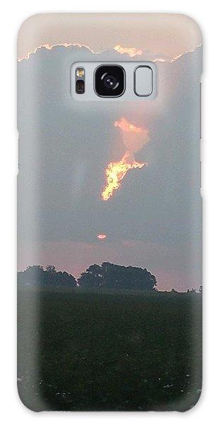 Morning Sky On Fire Galaxy Case