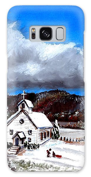 Morning Snow Ministry Galaxy Case