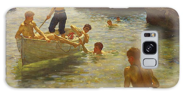 Boat Galaxy S8 Case - Morning Splendour by Henry Scott Tuke