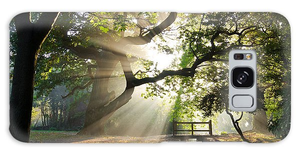 Morning Sunrise In Hampden Park Galaxy Case
