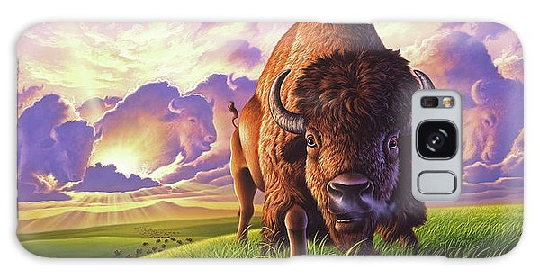 Bison Galaxy S8 Case - Morning Thunder by Jerry LoFaro