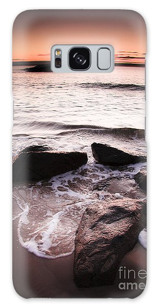 Galaxy Case featuring the photograph Morning Tide by Jorgo Photography - Wall Art Gallery