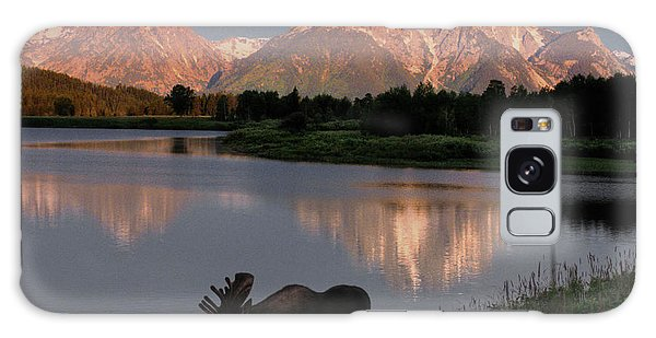 West Bay Galaxy Case - Morning Tranquility by Sandra Bronstein