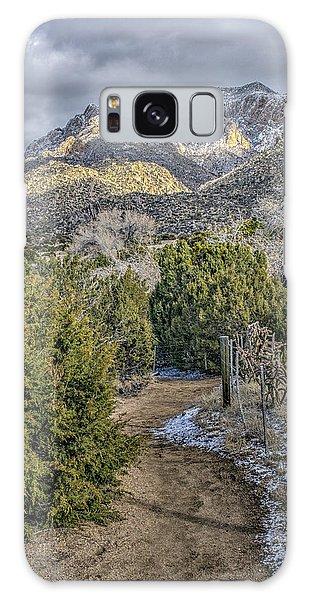 Morning Walk Galaxy Case by Alan Toepfer