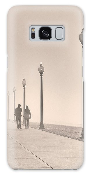 Morning Walk Galaxy Case by Don Spenner