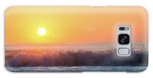 Morning Waves Galaxy Case