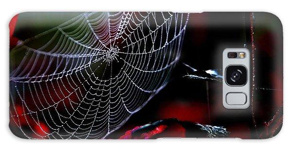 Morning Web Galaxy Case