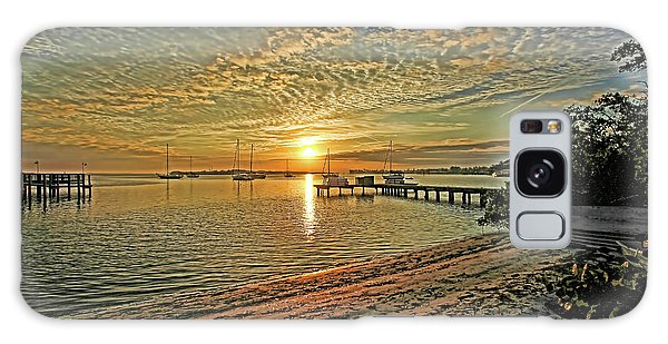 Mornings Embrace Galaxy Case by HH Photography of Florida