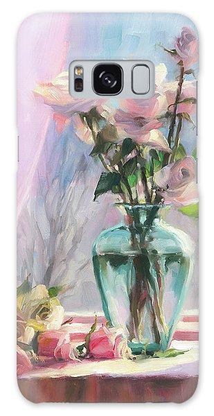 Pink Flower Galaxy Case - Morning's Glory by Steve Henderson