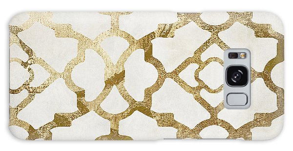 Pattern Galaxy Case - Moroccan Gold I by Mindy Sommers