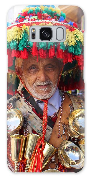 Galaxy Case featuring the photograph Moroccan Water Seller by Ramona Johnston