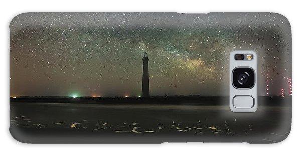 Morris Island Light House Milky Way Galaxy Case
