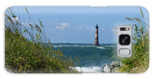 Morris Island Lighthouse Walkway Galaxy Case