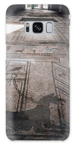 Mosaic In Pompeii Galaxy Case by Marna Edwards Flavell
