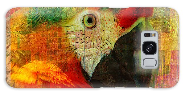 Mosaic Macaw 2016 Galaxy Case