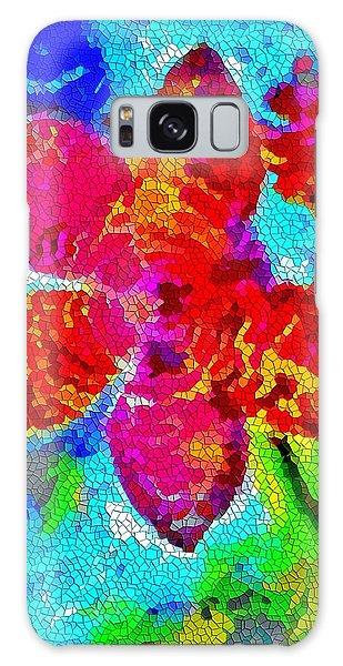 Mosaic Orchid 2 Galaxy Case