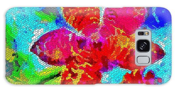 Mosaic Orchid Galaxy Case