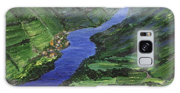 Galaxy Case featuring the painting Moselle River by Jamie Frier
