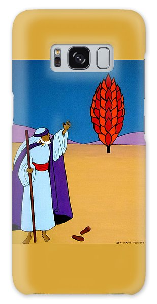 Moses And The Burning Bush Galaxy Case